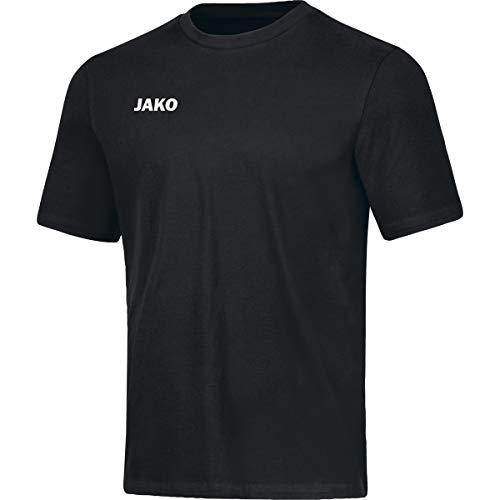 JAKO Base Camiseta para Hombre, Talla L, Negro