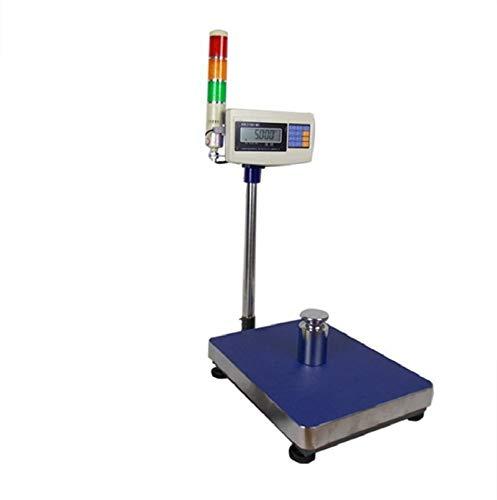 Escala multiuso XK3150W lámpara tricromática con balanza electrónica impresora pegatinas báscula de peso industrial incluso el ordenador (Color : Scale with bluetooth)
