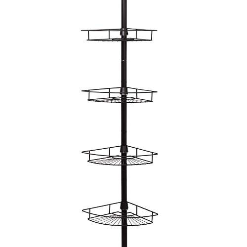 Zenna Home, Bronze 2156HB Shower Tension Pole Caddy