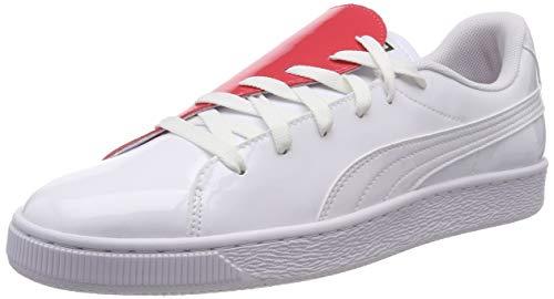 Puma Basket Crush Wns buty sportowe damskie, biały - Weiß Puma White Hibiscus - 40 EU
