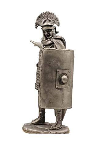 Antike Römische Zenturio Statue Skulptur, Mittelalterliches Soldat Modell Zinn Metall Modell Home Decoration Collection H75MM