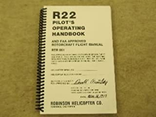 R22 Pilot's Operating Handbook And FAA Approved Rotocraft Flight Manual RTR 061