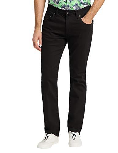 Pioneer Herren Straight Jeans Rando, Schwarz (11), W33/L32 (Herstellergröße: W33/L32)