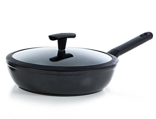 BK Cookware pan hoog met glazen deksel Easy Induction