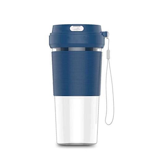 DHTOMC Juicer USB Electric Portable Blender 300ml Juicer Smoother Mixer Mini Procesador de Alimentos Azul Xping (Color : Blue)