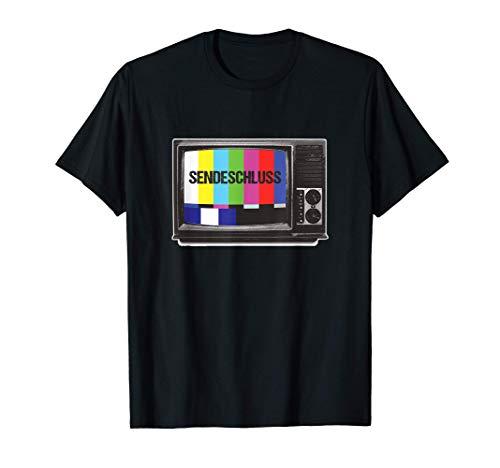 Testbild Fernseh-Test Chart Feierabend Sendeschluss Geschenk T-Shirt