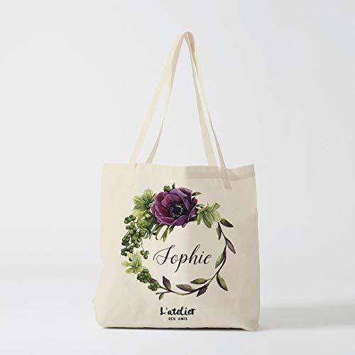 Borsa Tote bag Custom damigella d' onore, matrimonio, festa nuziale regali personalizzati regali di borse, damigella d' onore, by atelier des Amis