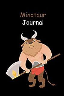 Minotaur Journal: Lined Journal for Writing, Doodling, Journaling, Office Work, Notes and School