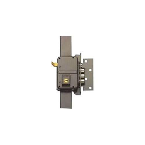 Yale 9YL645DHP Cerradura de sobreponer alta seguridad, Latonado, Hoja: 45 mm