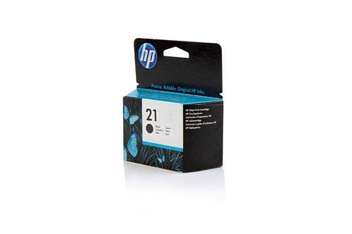 Original Tinte HP 21 , NO 21 , Nr 21C 9351 AE , C9351AE , C9351AEABB , C9351AEABD - Premium Drucker-Patrone - Schwarz - 190 Seiten - 5 ml