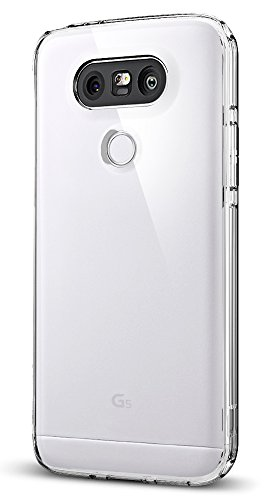LG G5 Hülle, Spigen® [Ultra Hybrid] Luftpolster-Technologie [Crystal Clear] Durchsichtige Rückschale und TPU-Bumper Schutzhülle für LG G5 Case, LG G5 Cover - Crystal Clear (A18CS20129)