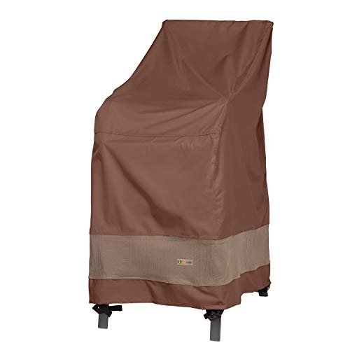 Duck Covers Ultimate Waterproof 28 Inch Stackable Patio Chair Cover