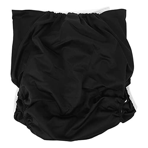 DOITOOL Pañal de Tela para Adultos Lavable Pañal de Tela para Ancianos Impermeable Transpirable Pantalones de Incontinencia Reutilizable Ajustable Ropa Interior de Noche sin Fugas para