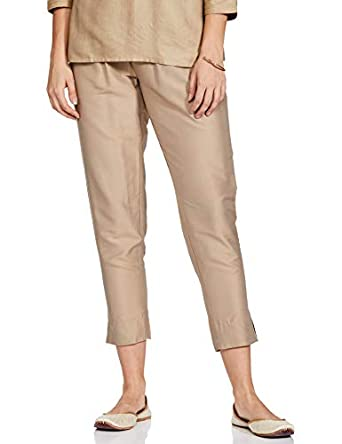GO COLORS Women's Parallel Fit : Tapered Bottom
