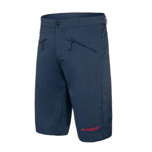 ruimteangst D1 shorts fiets shorts heren regenbroek kort blauw MTB