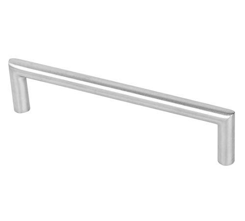 SO-TECH/® G17 Manija barral Manija de mueble con tubo de acero fino Distancia entre los pozos de sondeo 96 mm /Ø 12 mm