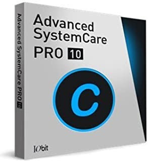IObit Advanced SystemCare 10 Pro - Digital (download link and license key will be sent by Amazon message)