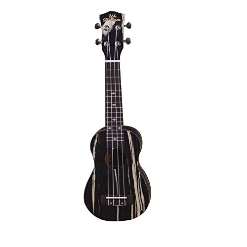 LOIKHGV 21 Zoll Ukulele 4 Saiten Professionelle Musikinstrumente Fineline Furnier Gitarren 15 Bünde, 21 Zoll