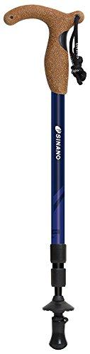 シナノ(SINANO) 登山 トレッキングポール ステッキタイプ 3YS HSS-2W ブルー 113437