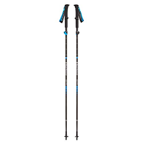 Black Diamond Distance Carbon Z Bastones, Unisex Adult, Negro, 125 cm