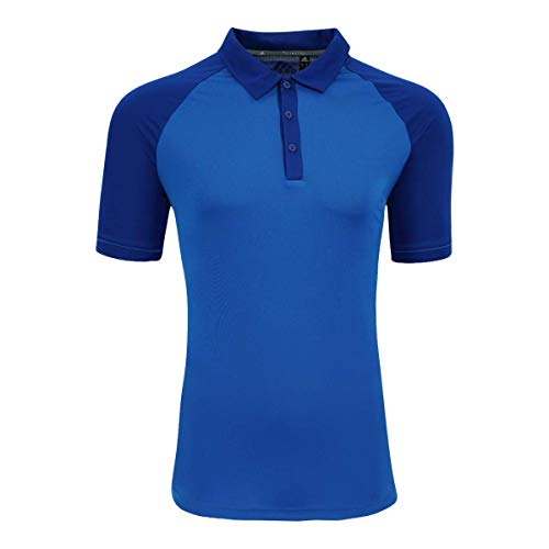 adidas Climacool A207 - Polo para Hombre - Azul - Small
