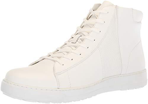 Calvin Klein Women's Salvador Sneaker, White/White, 11.5M M US