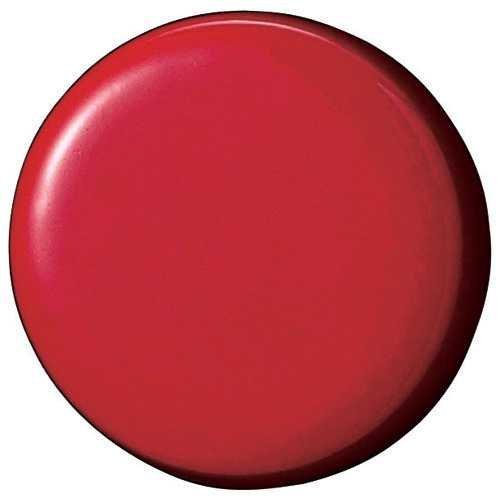 両面強力カラーマグネット18(コーティングタイプ) 赤