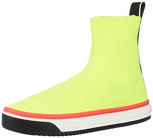 Marc Jacobs Women's Dart Sock Sneaker, Yellow, 35 M EU (5 US)