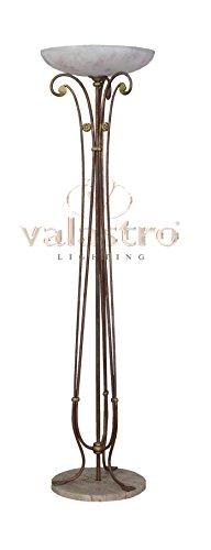 VALFB40012 SOPHIE - Chandelier - Lampadaire en fer forgé - - L'éclairage intérieur socle en marbre - fabriqué en Italie par Valastro éclairage