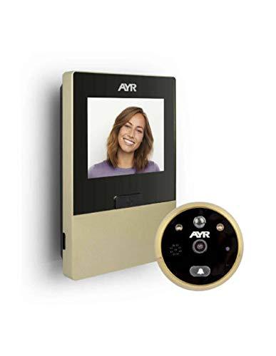 Ayr Mirilla Digital Grabadora con WI-FI 760-L, Dorada, 0