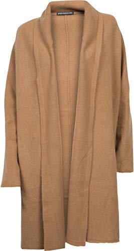Drykorn Damen Strickjacke aus Wolle in Camel XS