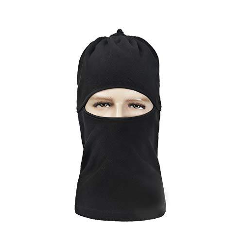 GUKOO Balaclava Gesichtsmaske, Atmungsaktiv Thermoaktiv, Windschutz Ohrenschutz für Skifahren Outdoorsport Motorradfahren Radfahren