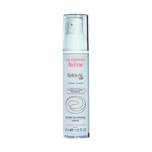 Eau Thermale Avene RetrinAL 0.05 Cream, Retinaldehyde, Plump & Reduce the Appearance of Deep Lines & Wrinkles, 1.01 oz. (0.1% Cream)