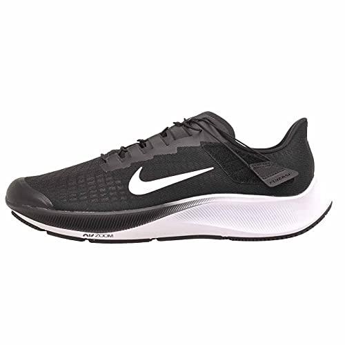 Nike Air Zoom Pegasus 37 Flyease, da uomo, nero/bianco-grigio fumo, Nero (Nero Bianco Fumo Grigio), 48.5 EU