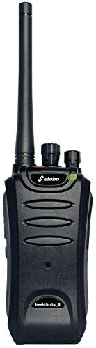 Stabo Elektronik 20282 Freetalk Digi 8 PMR/DMR Funkgerät Digitaltechnik sicher und störungsarm Li-Ion-Akku