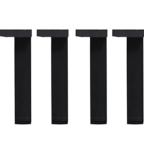 4 Piezas Patas para Muebles, Pies de Gabinete de Repuesto, Patas de Cocina,Patas de sofá,Patas de Mesa,Patas de Cama,con Tornillo(Color:a,Size:high 30cm)