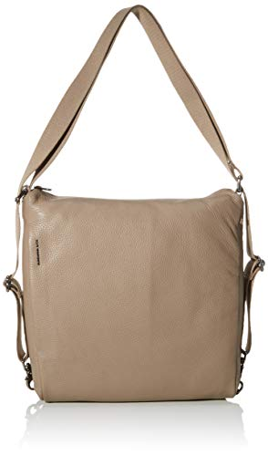Mandarina Duck Damen Mellow Leather Tracolla/Nero Kuriertasche, Grau (Amphora), 0.01x0.01x0.01 Centimeters