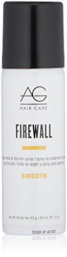 AG Hair Smooth Firewall Argan Shine & Flat Iron Spray, 1.5 oz