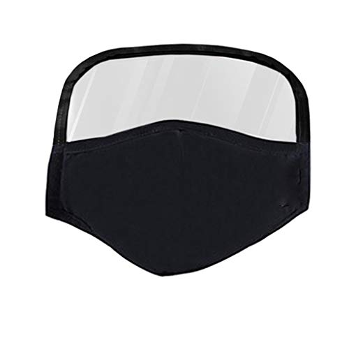 Hapae Kids Face Cover,Cotton Dustproof Indoor/Outdoor Play Face Protective with Eyes Shield