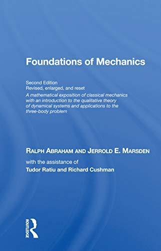 Foundations Of Mechanics (on Demand Printing Of 30102)