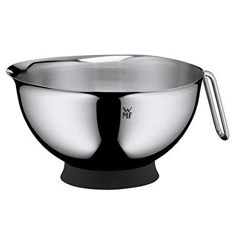 WMF Function Bowls Rührschüssel 1,25l, Schüssel 20 cm, Cromargan Edelstahl poliert, spülmaschinengeeignet, stapelbar, V