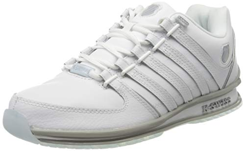 K-Swiss Herren Rinzler SP SB Sneaker, Weiß (White/White/Ice 932), 43 EU