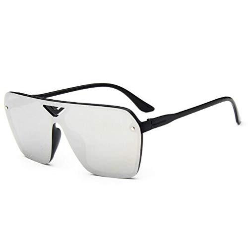 CHENG/ CHENG Sonnebrille Klassische Sonnenbrille Männer Sonnenbrille Frauen Fahren Spiegel Männliche Sonnenbrille Punkte Pilot