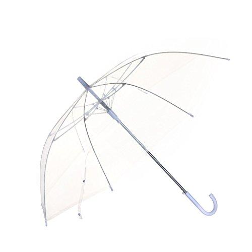 YNHNI Umbrella de Burbujas claras, Paraguas Resistente al Viento Duradero con diseño de Burbujas Robusto incapaz de Voltear Dentro, para Hombres y Mujeres de Todas Las Edades,Portátil (Color :
