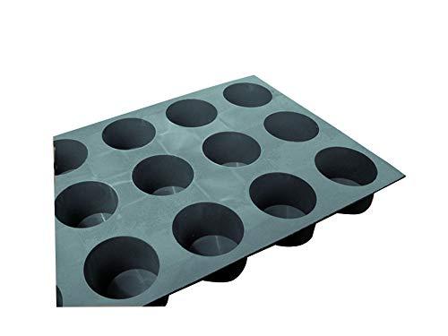 Moule silicone élastomoule 15 mini-muffins