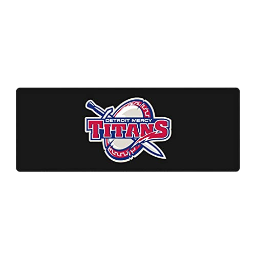 University of Detroit Mercy Mouse Pad Customize Gaming Laptop Accessories Computer Office Mousepad Base Waterproof Non-Slip Mat
