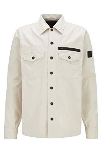 BOSS Lovel_3 Camisa, Beige Claro (270), XL para Hombre