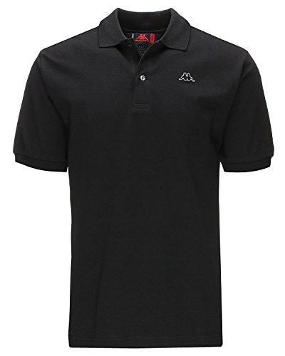 """Robe di Kappa Polo """"Aarau"""", colore nero Black L"""