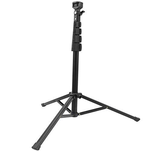 Trípode de Video para fotografía, Montaje en Soporte Diseño Plegable y portátil Material de aleación de Aluminio Ajustable Amplias Aplicaciones para Video en Vivo