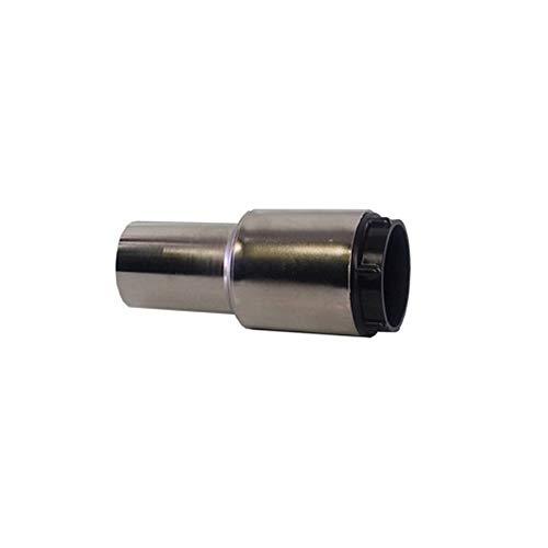 Empalme niquelado conductor giratorio para tubo flexible aspirador centralizado Ø32